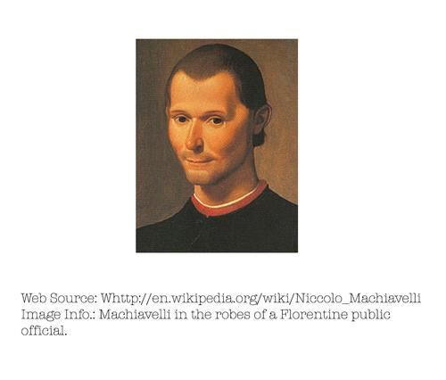 Photo of Niccolò Machiavelli