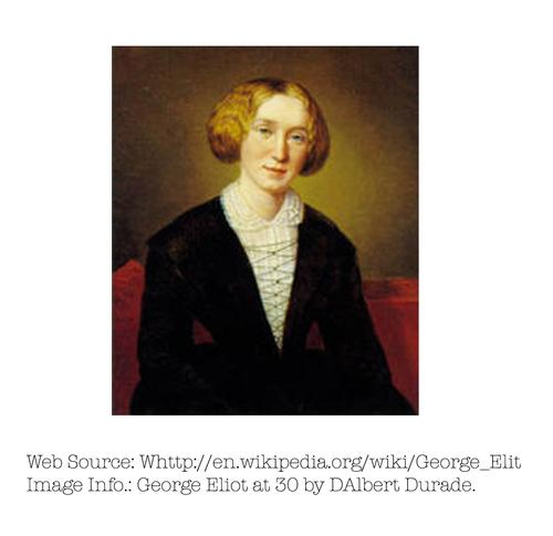 Photo of George Eliot