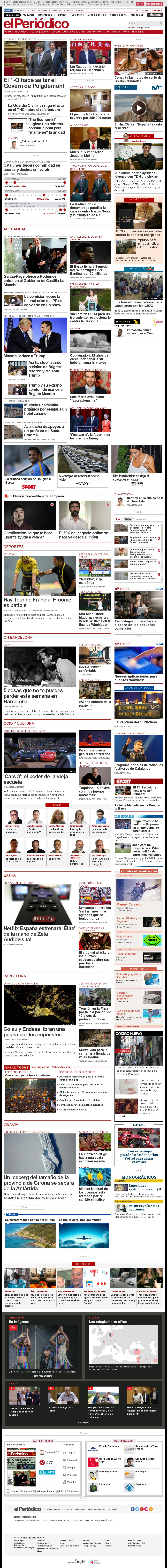 El Periodico at Friday July 14, 2017, 5:13 a.m. UTC