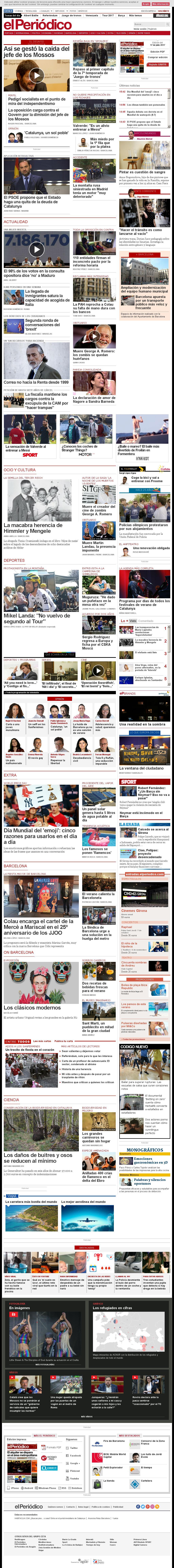 El Periodico at Monday July 17, 2017, 2:21 p.m. UTC