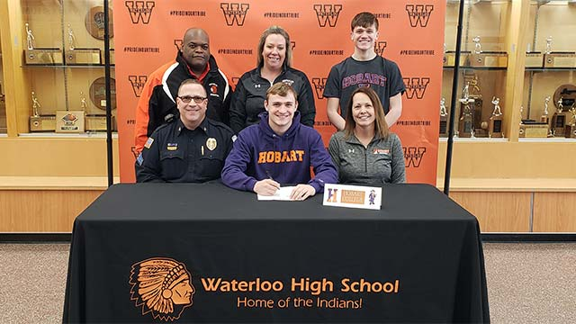 Waterloo's Joel Kraft to play football at Hobart