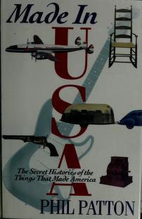 Cover of: Made in U.S.A. | Phil Patton