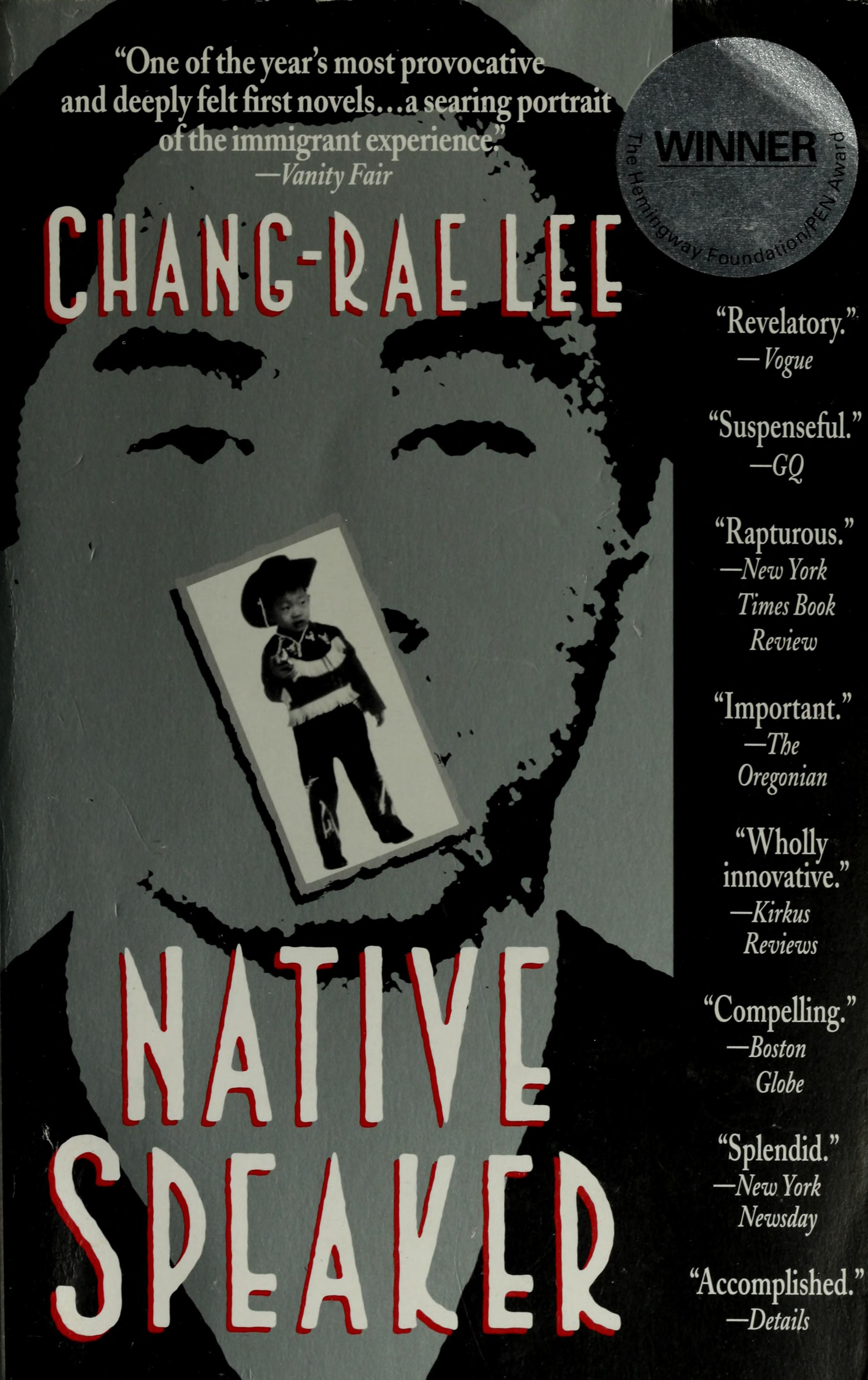 Native speaker : Lee, Chang-rae : Free Download, Borrow, and