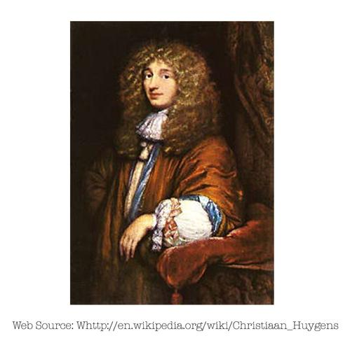 Photo of Christiaan Huygens