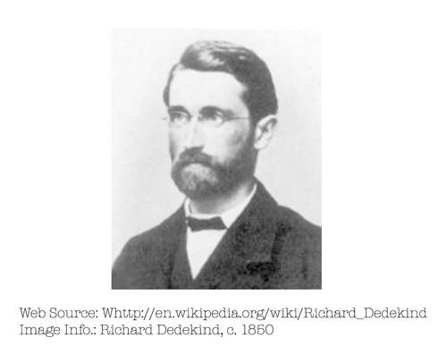 Photo of Richard Dedekind