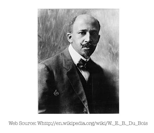 Photo of W. E. B. Du Bois