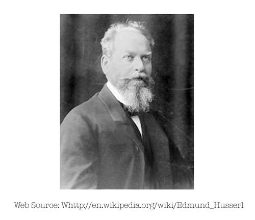 Photo of Edmund Husserl