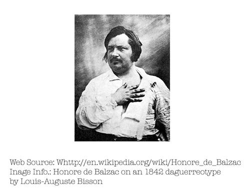 Photo of Honoré de Balzac