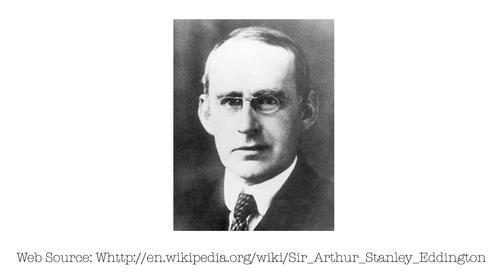 Photo of Eddington, Arthur Stanley Sir