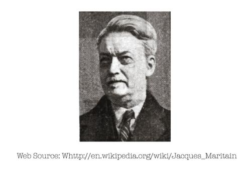 Photo of Jacques Maritain