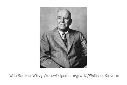 Photo of Wallace Stevens
